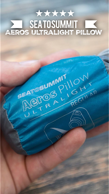 Sea to Summit - Aeros Ultralight Pillow - Kissen für unterwegs | Wandern und auf Trekkingtouren | Gear Review | Outdoor Equipment Sea-to-Summit