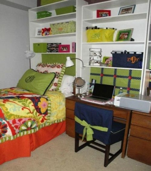 How About An Over The Bed Bookcase No Extra Floor E Has Been Used Yet You Ve Gained A Great Place For Books Photos Cork Board Clip On Lamp