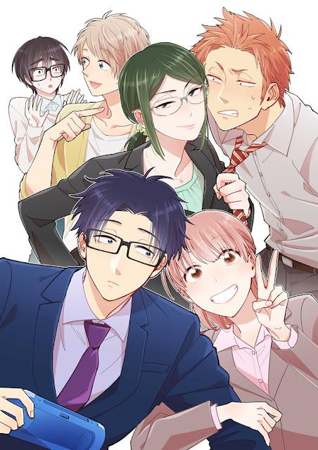 Anime de Wotaku ni koi wa muzukashii ganha data de estreia