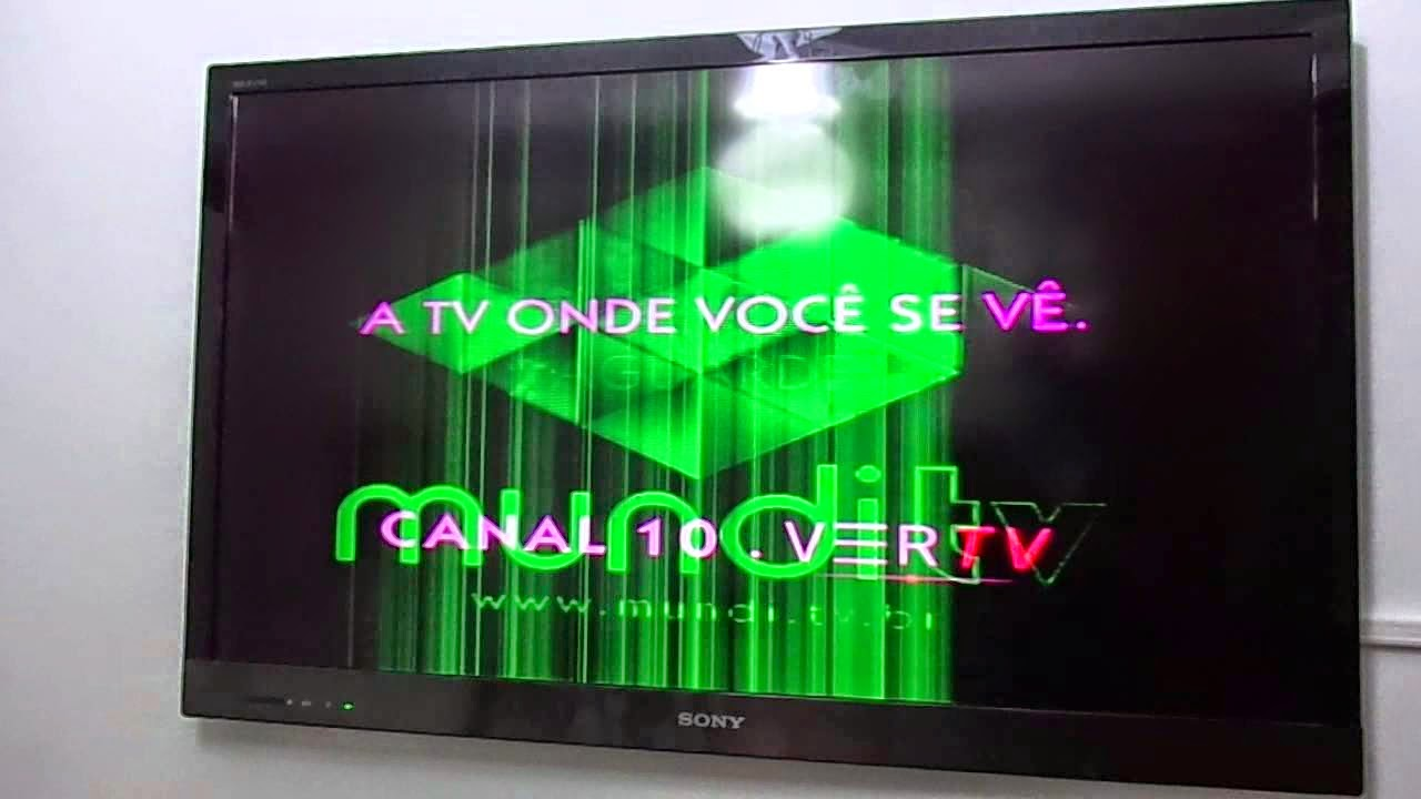 TV Sony ficando Verde