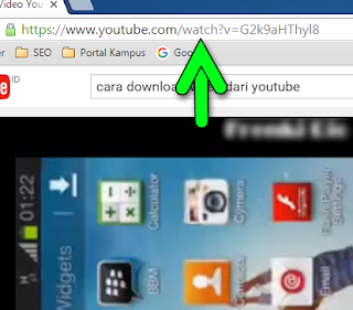 Cara Download Video Youtube dengan id.savefrom.net