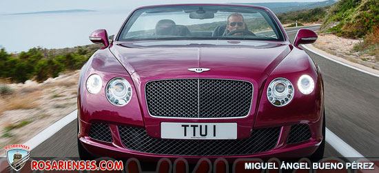 Bentley Continental GTC Speed 2013, filtrado en la red | Rosarienses, Villa del Rosario