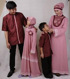 Model Busana Pesta Keluarga Muslim Modern Terbaru