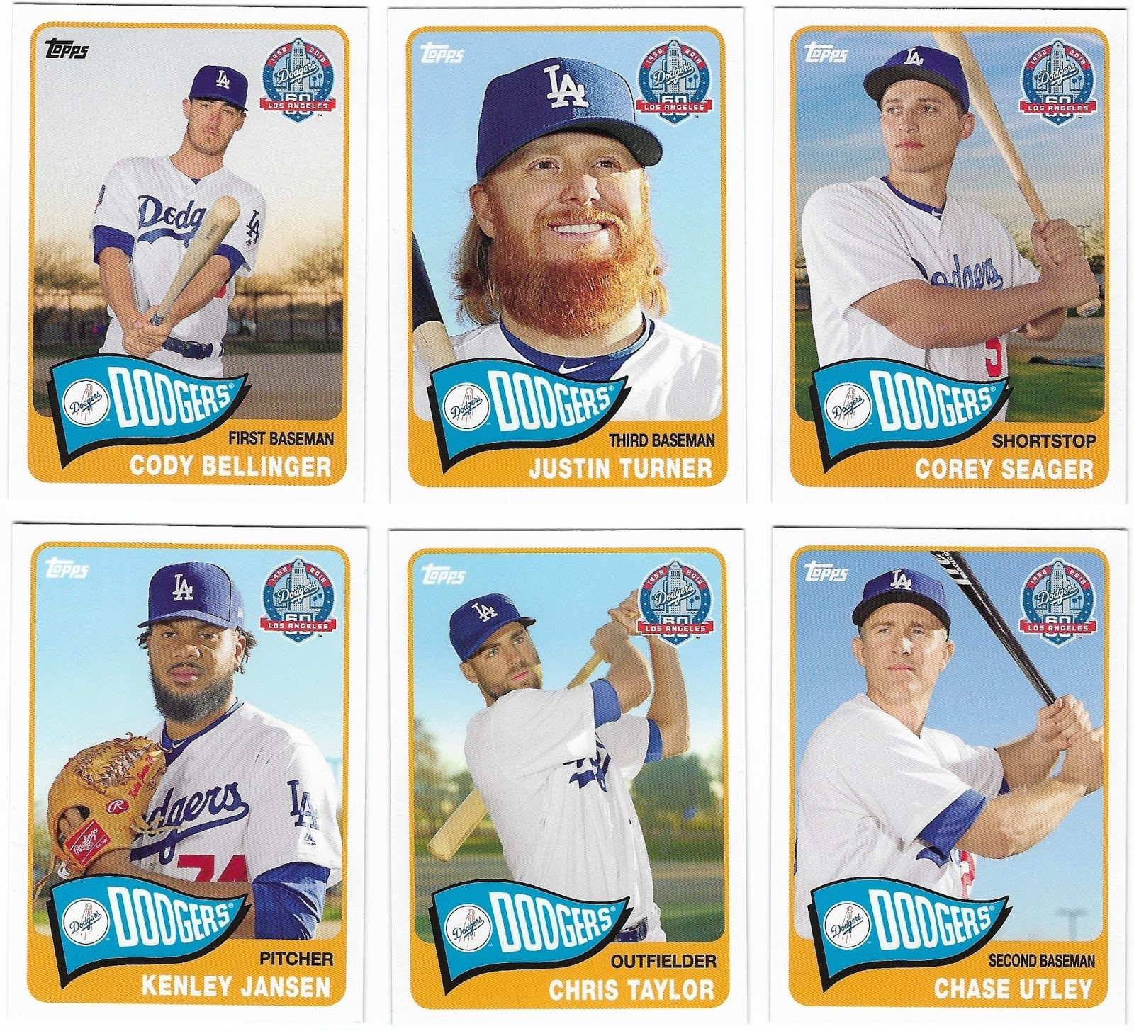 Cards As I See Them The Dodgers Are Giving Away Cards In 2018