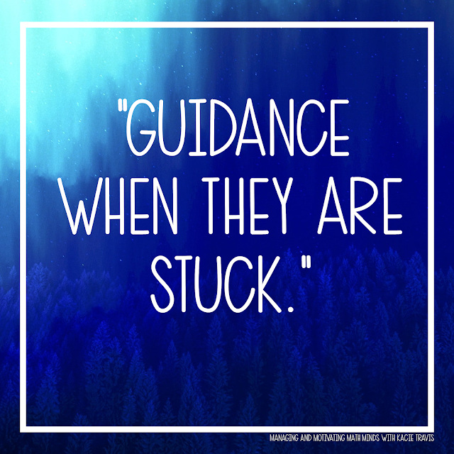 Lord, give my students guidance when they are stuck.
