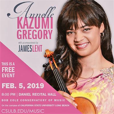 John Malveaux: All Russian Violin Recital Feb 5, 2019