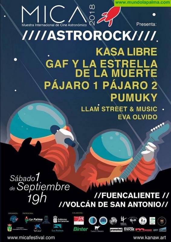 Astrorock en Fuencaliente