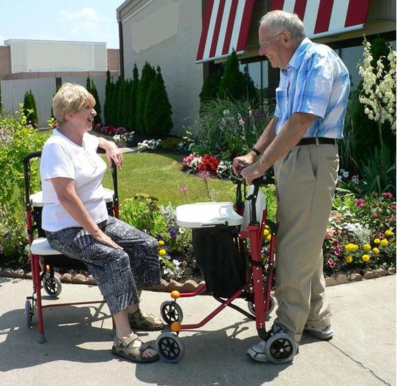 Best medical rollator for comfortable movement