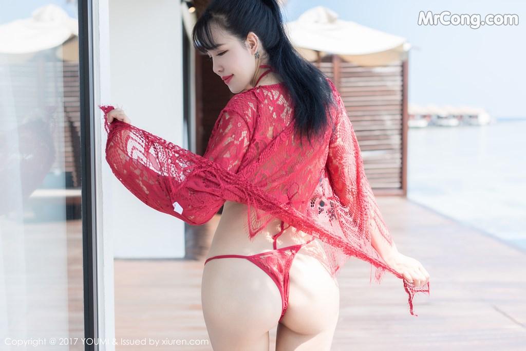 Image YouMi-No.101-Liu-Yu-Er-MrCong.com-009 in post YouMi No.101: Người mẫu Liu Yu Er (刘钰儿) (49 ảnh)