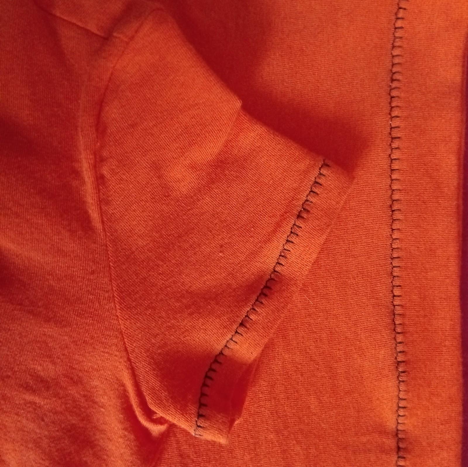 detalles mangas camiseta handamade