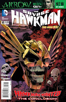 The Savage Hawkman #16 Cover