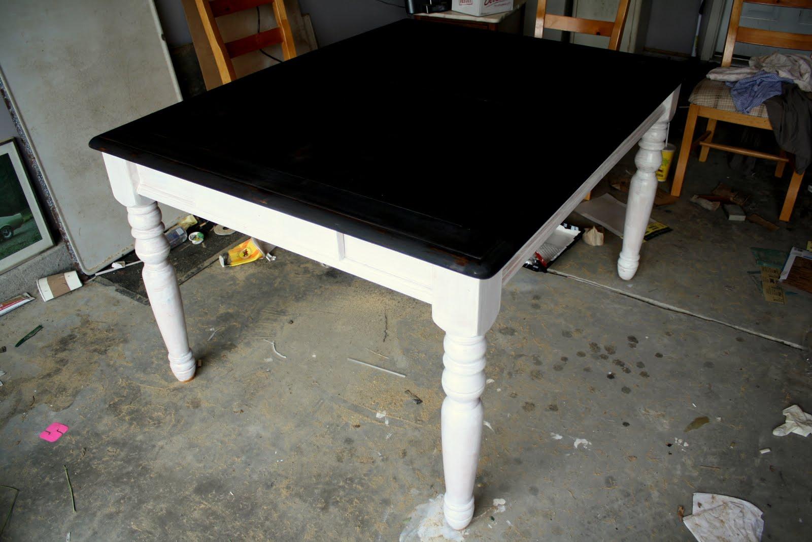 refinishing dining room table refinish kitchen table Refinishing the Dining Room Table