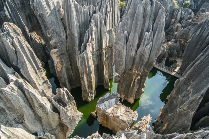 The Stone Forest; Yunnan Provence, China
