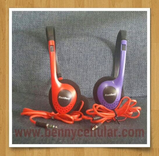 HEADSET BANDO BLACKBERRY
