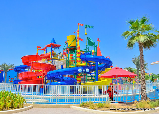 water playground at Legoland Dubai