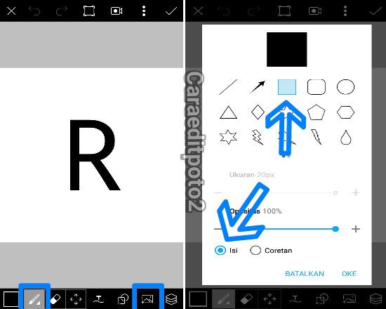 Cara Mudah Membuat Logo 3D di Picsart Android