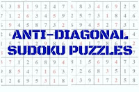 Anti Diagonal Sudoku Variation Puzzles