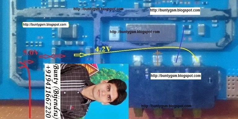 Samsung SM-G531H Battery Connector Ways Solution Jumper - IMET ...