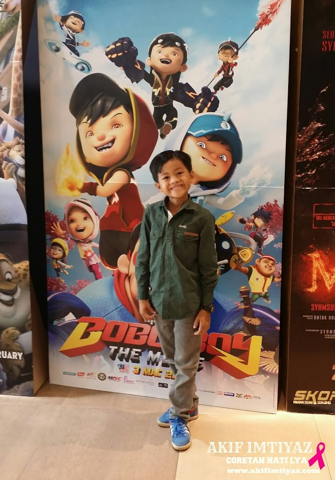 TIKET HABIS BoboiBoy The Movie Terhenti Setakat Ini