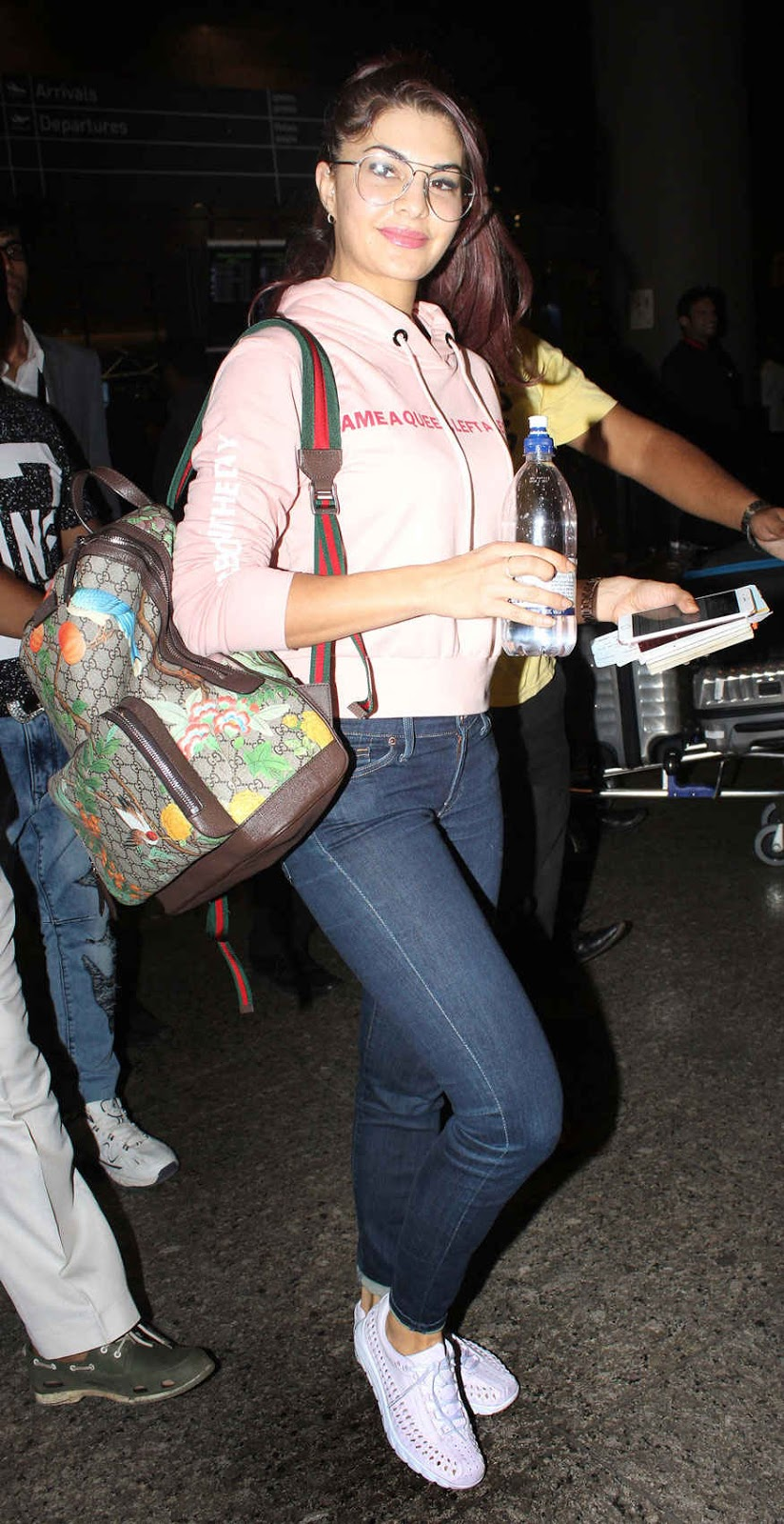 Jacqueline Fernandez at Airport In Mumbai