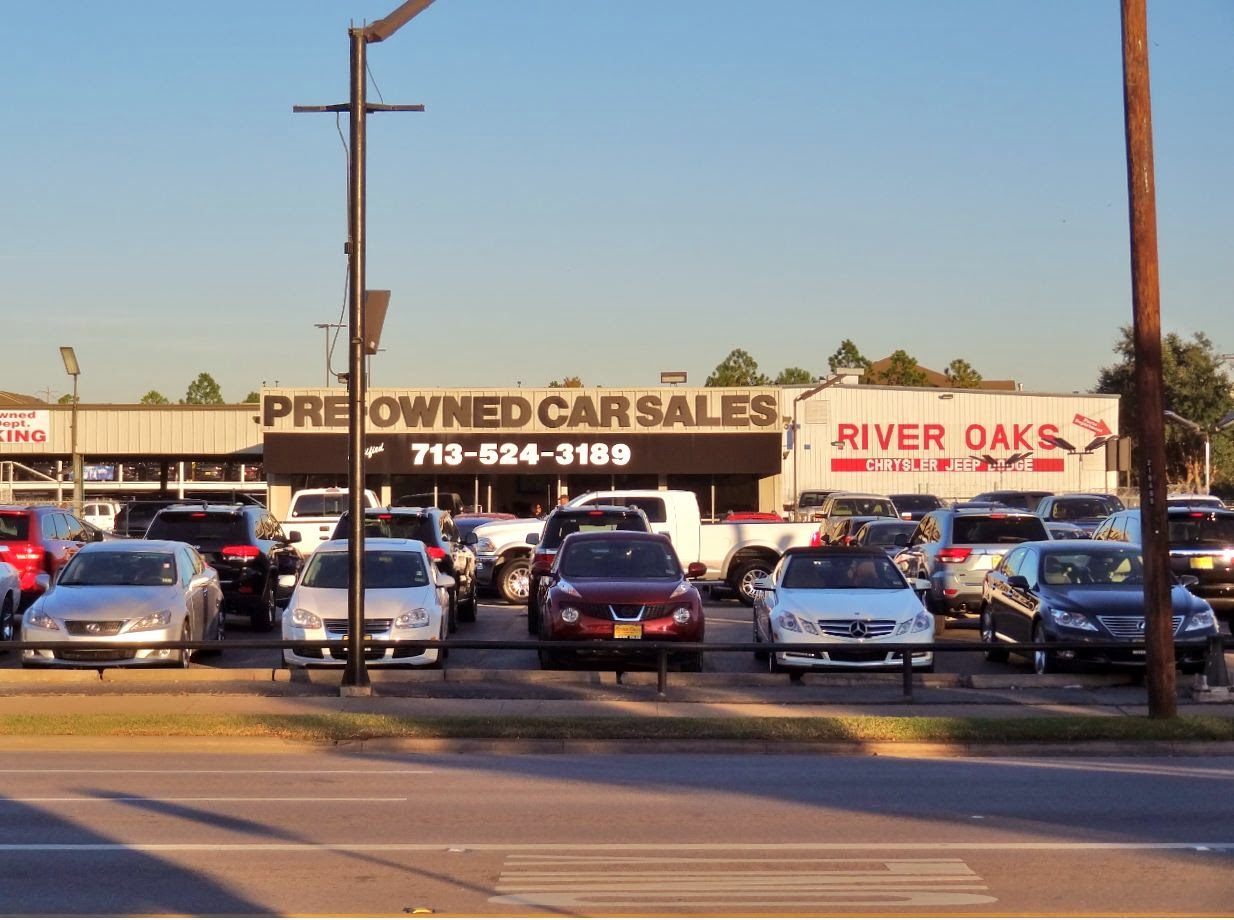River Oaks Dodge >> Houston In Pics Pre Owned Car Lot On Kirby River Oaks