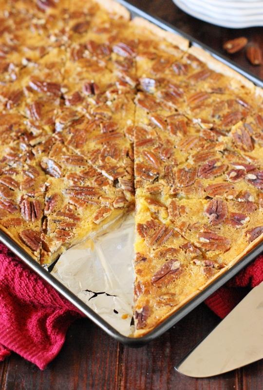 Pecan Slab Pie The Kitchen Is My Playground