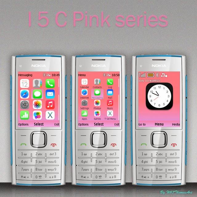 I5 C pink free theme nokia x2-00