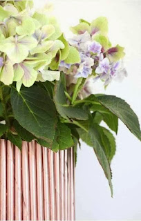 Cara Membuat Kerajinan Tangan Dari Kertas, Pot Bunga Koran Bekas 7