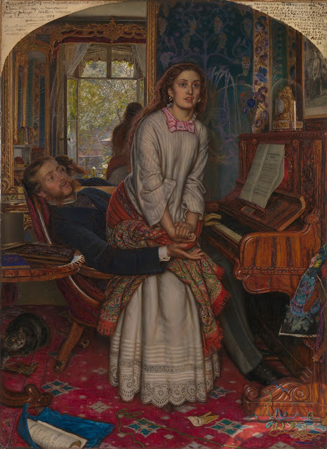 William Holman Hunt - The Awakening Conscience - 1853