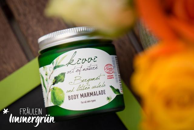 Kivvi Body Marmalade Bergamotte and Litsea Cubeba