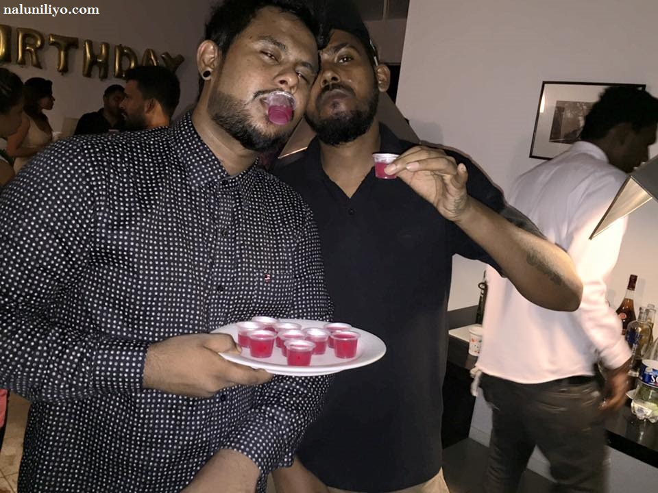 iraj hot birthday party