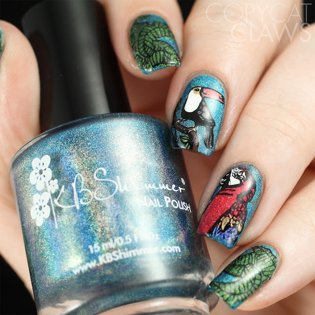 Bundle Monster Bird Nails