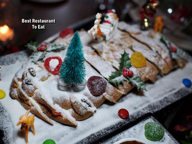 CHRISTMAS 2018 DINNER Dishes - Stollen