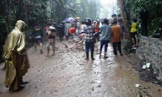 Banjir dan Longsor Landa Wilayah Gunung Sari