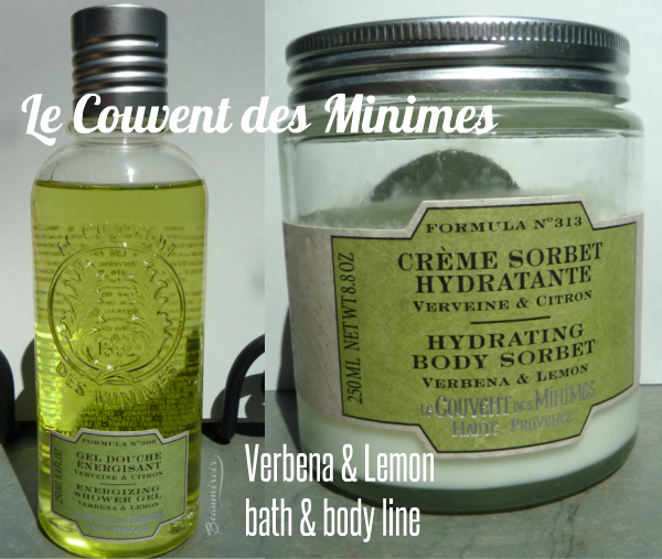 Le Couvent des Minimes Verbena & Lemon Energizing Shower Gel and Hydrating Body Sorbet