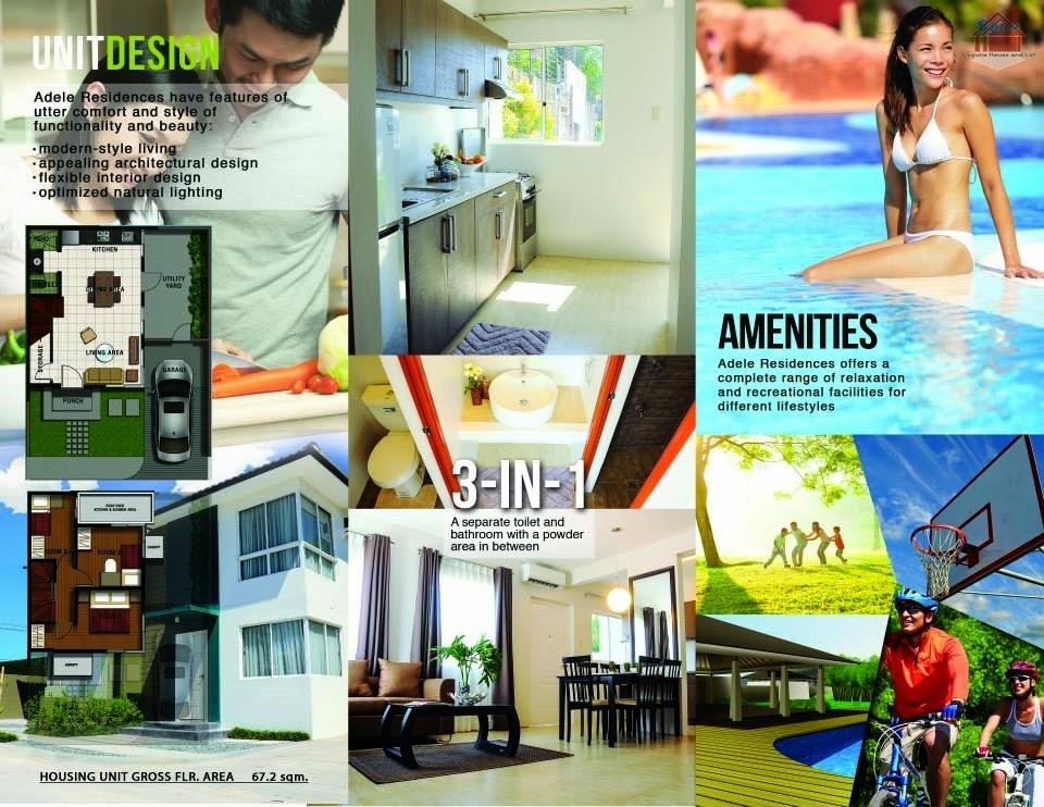 Laguna House And Lot Dream Homes Adele Residences