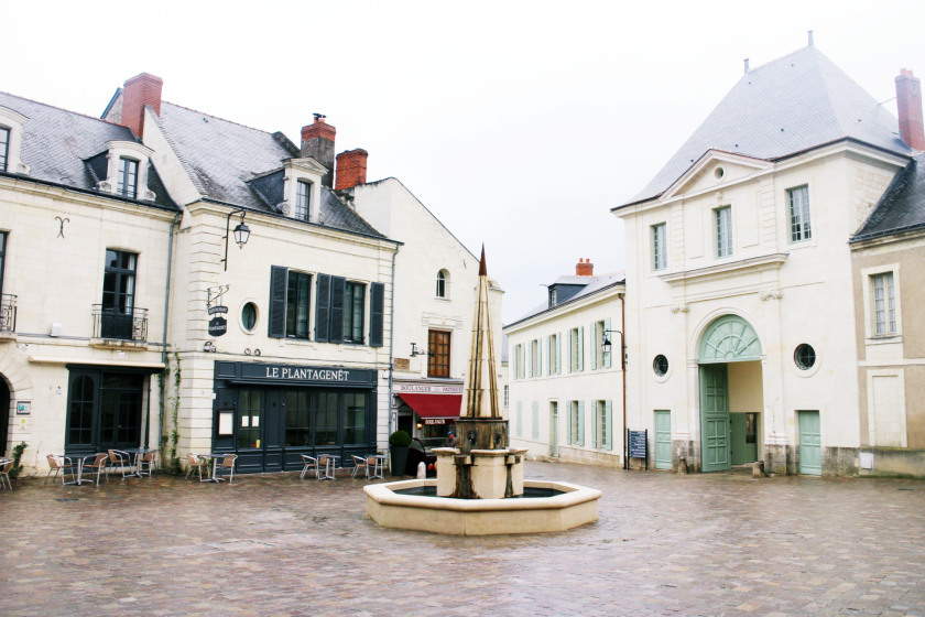 Square in the Loire Valley, France