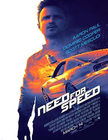 Need for Speed 2014 Hindi Dual Audio 400MB BluRay 480p ESubs