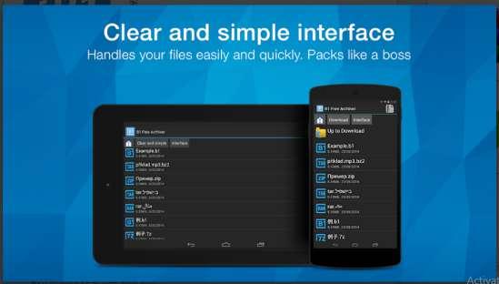Aplikasi Ekstrak Android Tercepat B1 Archiver Zip Rar Unzip APK