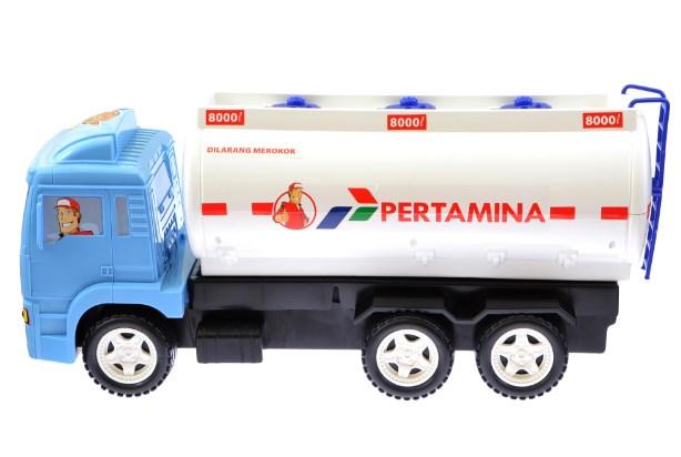 miniatur truk pertamina indonesia