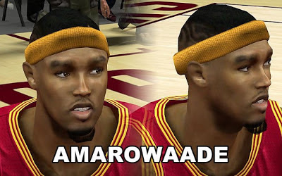 NBA 2K13 Daniel Gibson Cyberface Patch