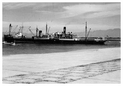 Buque de vapor en Puerto Vallarta