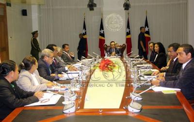 Reunião do Conselho de Estado timorense durou três horas e meia