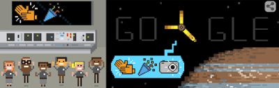 المسبار جونو يصل إلى كوكب المشتري #جوجل تحتفل به