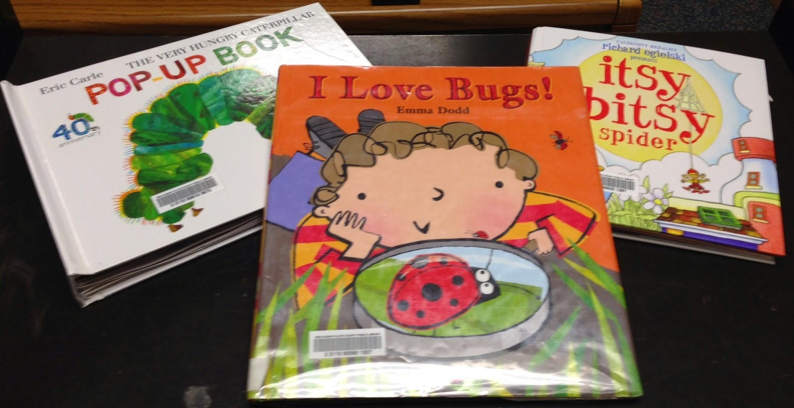 Abby the Librarian: Preschool Storytime: Bugs