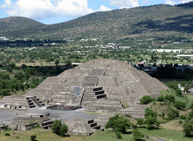 The Pyramid of the Moon - Teotihuacan - Mexico