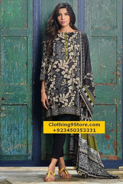 Khaadi's Midsummer two piece unstitched lawn collection