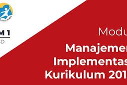 Modul Pelatihan Kurikulum 2013 Bagi Kepala Sekolah Jejang SD SMP SMA SMK Tahun 2018