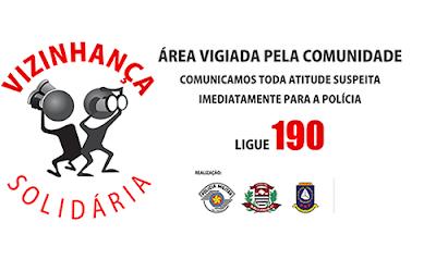 CONHEÇA O PROGRAMA VIZINHANÇA SOLIDÁRIA DA POLÍCIA MILITAR