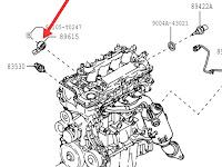 Harga Dan Fisik Sensor Knock Control Daihatsu Xenia / Toyota Avanza